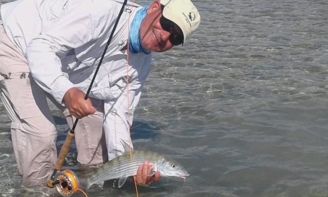 Andros release - Bonefish