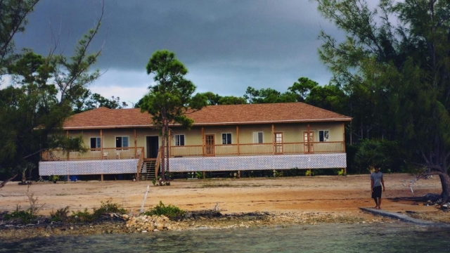 The Lodge at Red Bay - Andros Island. Completed in 2018 by Benry Smith is the only lodge on the west coast of North Andros'